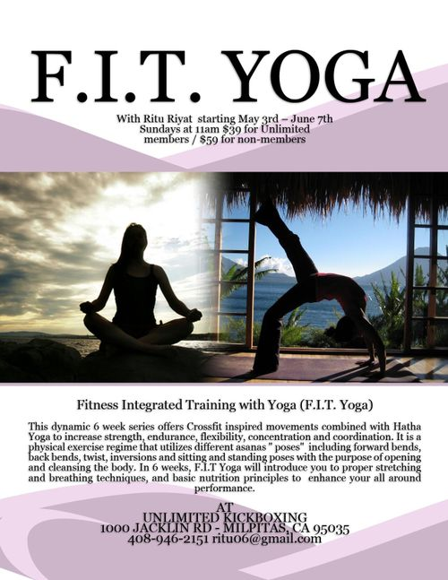Click to Register Online for FIT YOGA